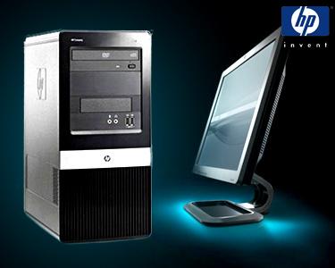 Computador HP® Desktop | Com Opção de Monitor