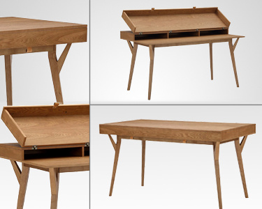 Mesa Escrivaninha Hens | Estilo Vintage