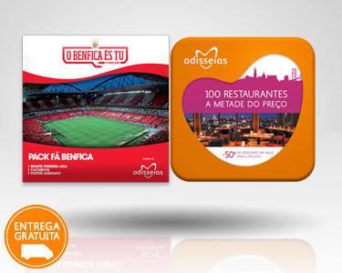 2 Presentes: Fã Benfica & 100 Restaurantes