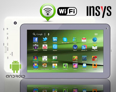 Tablet 9' INSYS Android 4 | Leve e Fino