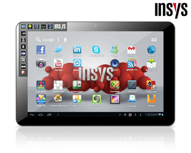 Tablet 10.1' INSYS® | QuadCore e 3G Interno