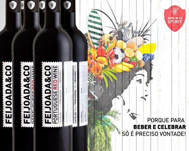 Pack de 6 Garrafas de Vinho Tinto Feijoada&Co