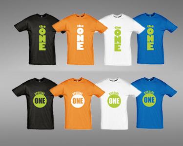 T-Shirt Special One ou The One | Escolha a Sua