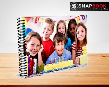 Foto Livro Espiral 24 páginas | O seu Álbum Personalizado