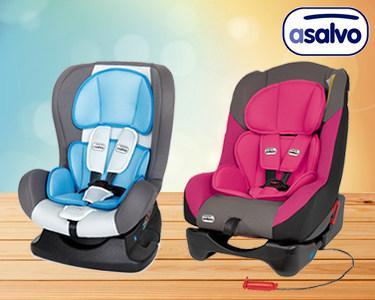 Cadeira Auto para Bebé Grupo 0+1 | Asalvo®