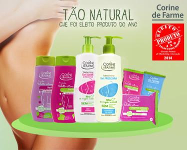 Pack Higiene Intima Corine de Farme®   Eleito Produto do Ano 2014