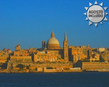 Férias em Malta e Ilha de Gozo | 6 Noites com Voo + Transfers