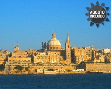 Férias em Malta e Ilha de Gozo   6 Noites com Voo + Transfers