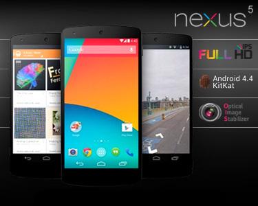 Telemóvel LG® Nexus 5 LGD821