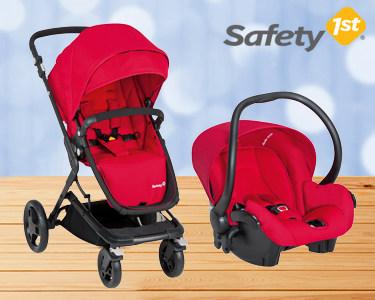 Carrinho de Passeio para Bebé 0+ Safety 1st® | Dos 0 aos 3 Anos