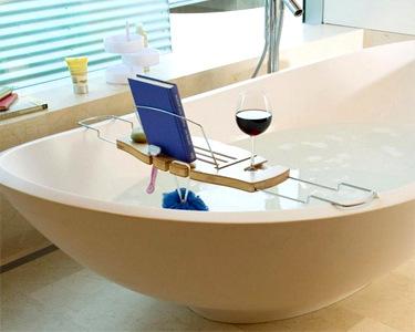 Organizador para Banheira | Prático e Elegante