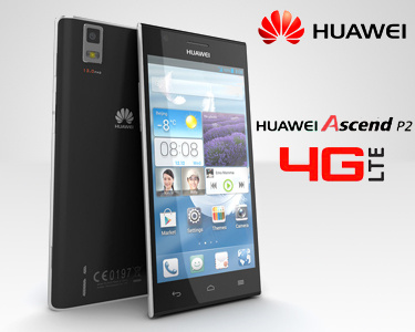 Smartphone Huawei Ascend P2 | Quad-core 1.5 GHz