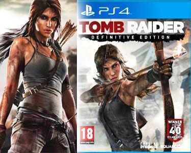 Jogo Tomb Raider Definitive Edition | PS4