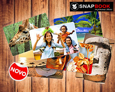 Impressão de 100 Fotos com Cantos Redondos