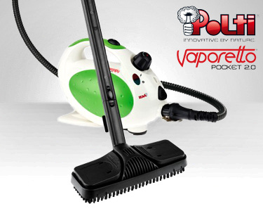 Máquina Vaporetto Pocket 2.0 da Polti®   Limpeza a Todo o Vapor