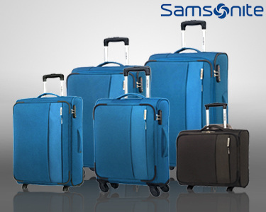 Malas de Viagem Samsonite® DayTrip | Tamanhos Cabin Size & Porão