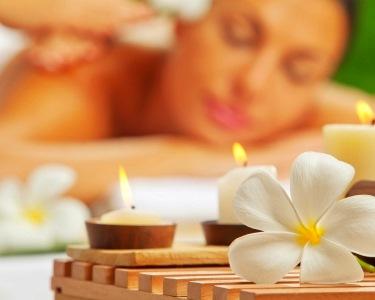 Massagem de Velas & Infusão Relaxante