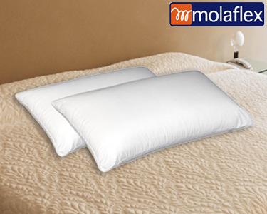 2 ou 4 Almofadas Hipoalergénicas | Molaflex®