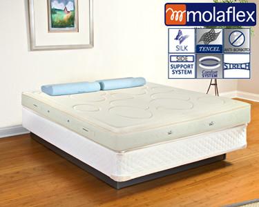 Colchão Silk Molaflex®   One to one Control® e Viscoelástico
