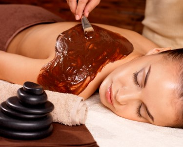 Chocoterapia | Envolvimento com Chocolate & Massagem