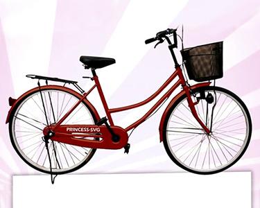 Bicicleta Urbana Princess-SVG | A Vida Citadina Numa Outra Perspectiva