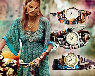 Relógios Hippie Chic | 3 Modelos à Escolha