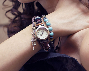 Relógio com Estilo Hippie Chic