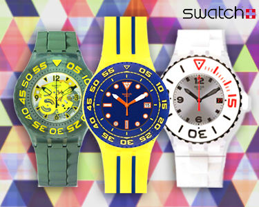 Relógios Swatch Originals | Time is What You Make Of It