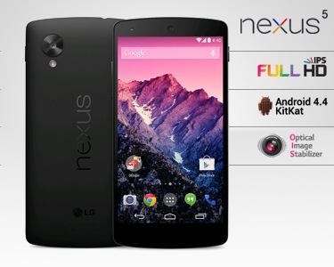Telemóvel LG® Google Nexus 5 | 16GB ou 32GB