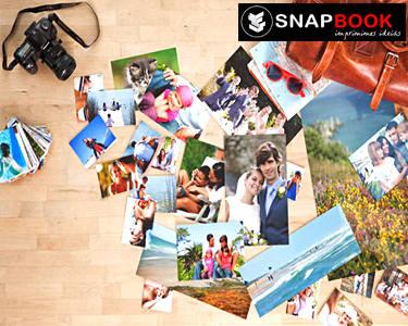 Snapbook   Impressão de 102 Fotos 10x15 - Guarde Todos os Momentos