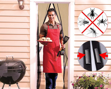 Rede Magnética Anti-Mosquitos | Branco ou Preto -> Escolha a Cor -> Rede Magnética Anti-Mosquitos | Preto