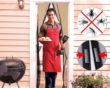 Rede Magnética Anti-Mosquitos |