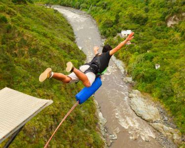 Bungee-Jumping | Explosão de Adrenalina p/ 1 ou 2 Pessoas | Porto
