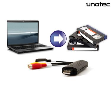 Transforme o VHS em Digital   Pen Conversora de Áudio e Vídeo