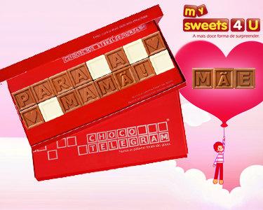 ChocoTelegram | Personalize uma Mensagem Para a Sua Mãe