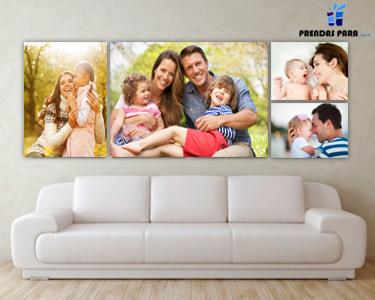 Tela com Foto 100% Personalizada | 4 Tamanhos