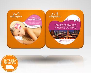 2 Presentes: SPA & 100 Restaurantes