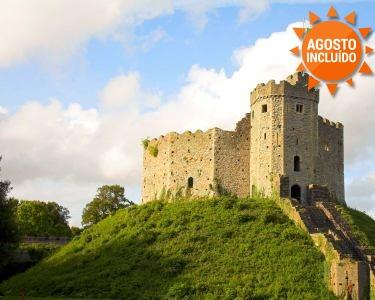 Visite o País de Gales | 3 Noites num Castelo e Aluguer de Carro