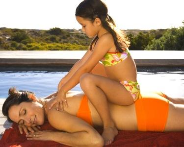 Princesas das Arábias por 1 Hora | Massagem Mãe & Filha