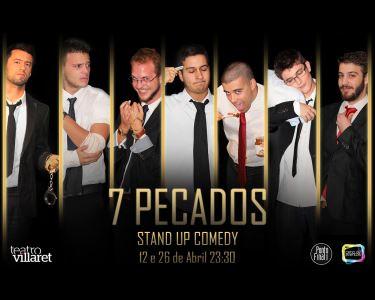 7 Comediantes Encarnam os «7 Pecados» | Teatro Villaret
