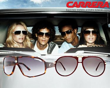Óculos de Sol Carrera® para Ele & Ela   Até Onde a Vista Alcança