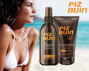 Piz Buin® Tan Intensifier | Acelera o Bronzeado Natural