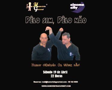 Humorista Gourmet Apresenta: «Pelo Sim… Pelo Não!» | Stand Up Comedy