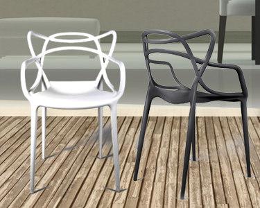 Cadeira Courve Interior e Exterior   Charme de Verão