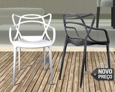 Cadeira Courve | Charme para Interior e Exterior