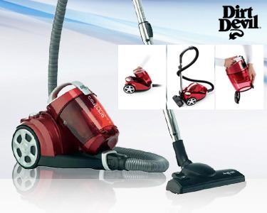 Aspirador Dirt Devil 2000W com Depósito