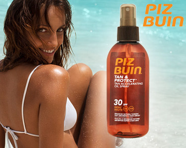 Piz Buin® Tan & Protect Oil Spray SPF30 | Melhora o Bronzeado Natural