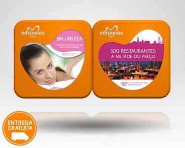 2 Presentes: SPA + 100 Restaurantes