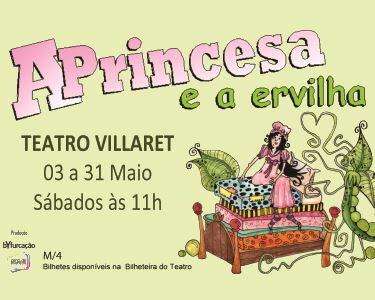 «A Princesa e a Ervilha» no Teatro Villaret