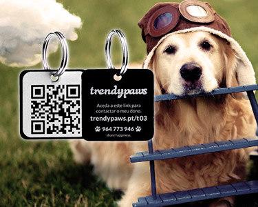 QR Tag Trendypaws® | Proteja o seu Melhor Amigo